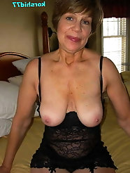 Spanish older cougars in perfect shape