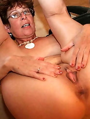I love to eat grannys juicy arsehole