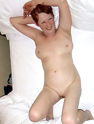 Slim granny hairy and shaved